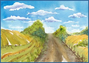 Road to Somewhere-Outlined-w