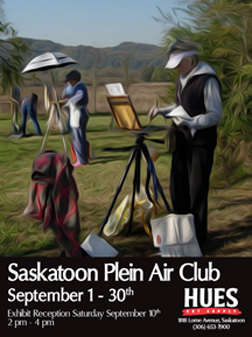 HUES Plein Air Announcement-w